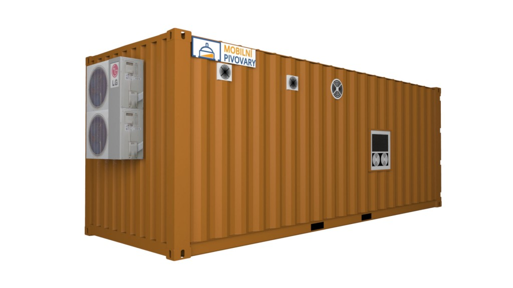 Minipivovar MOBBEER 1-kontejnerový