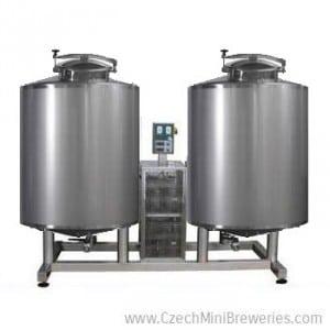 Kompaktní Modulo systém pro horkou vodu, studenou vodu, chlazení mladiny