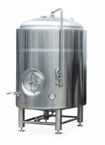 Přetlačný pivní tank vertikální
