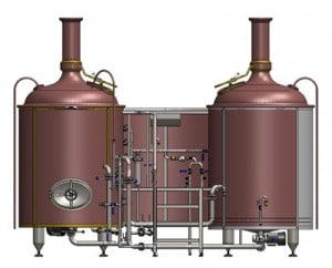 Pivovarská varna Breworx Lite-ME 500