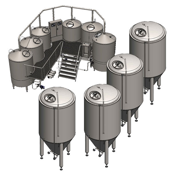 Minipivovary Breworx Oppidum