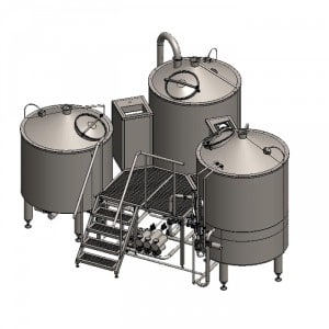 Pivovarská varna Tritank