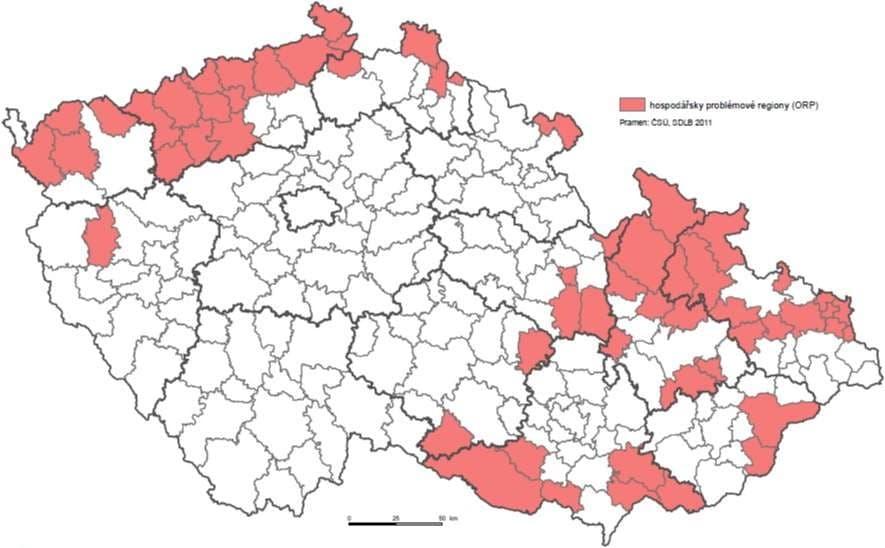 mapa-cr-dotacni-podpora-investicnich-projektu-2015