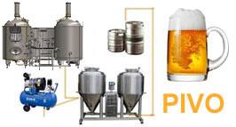 Výroba pivovarů Modulo