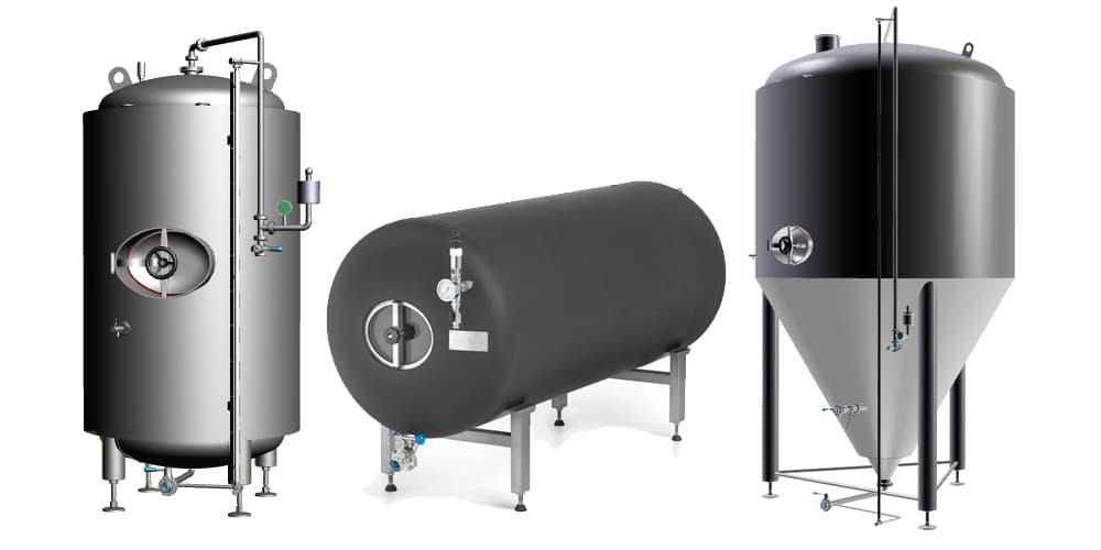 Pivní tanky